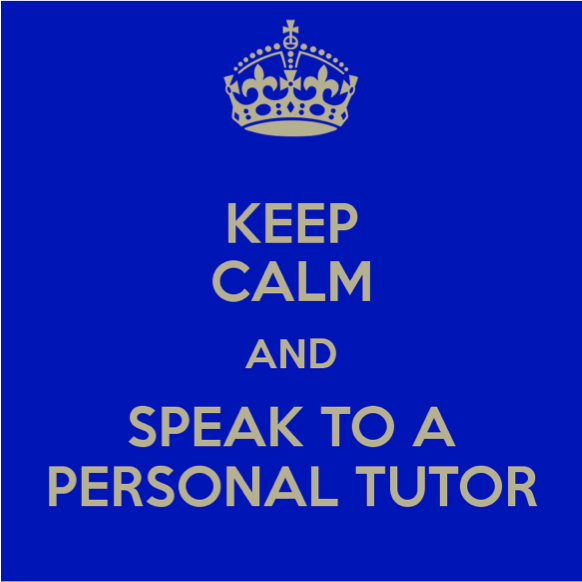 Week 1 – Introduction to Personal Tutoring